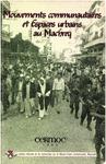 Livre numérique Mouvements communautaires et espaces urbains au Machreq