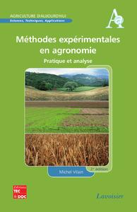 Livre numérique Méthodes expérimentales en agronomie: pratique et analyse