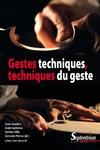 Livre numérique Gestes techniques, techniques du geste