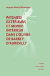 Livre numérique Paysages extérieurs et monde intérieur dans l'œuvre de Barbey d'Aurevilly
