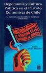 Livre numérique Hegemonía y Cultura Política en el Partido Comunista de Chile