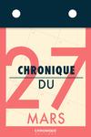 Livre numérique Chronique du 27  mars