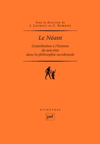 Le Néant, Contribution à l'histoire du non-être dans la philosophie occidentale