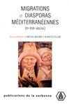 Livre numérique Migrations et diasporas méditerranéennes (Xe-XVIe siècles)