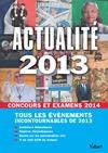 Livre numérique Actualité 2013 pour les concours et examens 2014