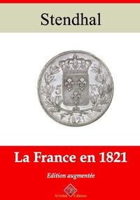 La France en 1821 – suivi d'annexes, Nouvelle édition 2019