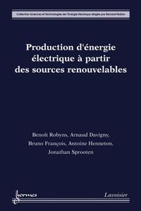 Livre numérique Production d'énergie électrique à partir des sources renouvelables