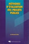 Livre numérique Méthodes d'évaluation des projets publics