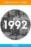 Livre numérique Chronique de l'année 1992