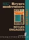 Livre numérique Revues modernistes, revues engagées