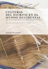 Livre numérique Culturas del escrito en el mundo occidental