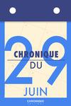 Livre numérique Chronique du 29  juin