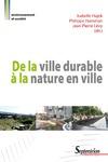 Livre numérique De la ville durable à la nature en ville
