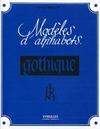 Livre numérique Modèles d'alphabets - La gothique