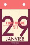 Livre numérique Chronique du 29  janvier
