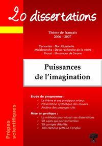 Livre numérique Puissances de l'imagination