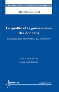 Livre numérique La qualité et la gouvernance des données