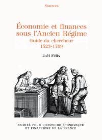 Livre numérique Économie et finances sous l'Ancien Régime