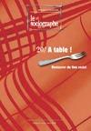 Livre numérique le Sociographe n°20 : À table !