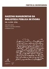 Livre numérique Gazetas Manuscritas da Biblioteca Pública de Évora. Vol. 1 (1729-1731)
