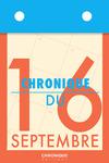 Livre numérique Chronique du 16 septembre