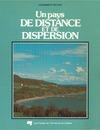 Livre numérique Un pays de distance et de dispersion