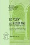 Livre numérique Le «cuer» au Moyen Âge