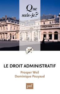 Le droit administratif, « Que sais-je ? » n° 1152