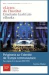 Livre numérique Polyphonie sur l'identité de l'Europe communautaire