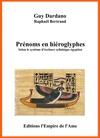 Livre numérique Prénoms en hiéroglyphes R à Z