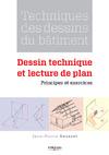 Livre numérique Techniques des dessins du bâtiment - Dessin technique et lecture de plan
