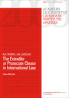 Livre numérique Aut Dedere, aut Judicare: The Extradite or Prosecute Clause in International Law