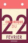Livre numérique Chronique du 22  février