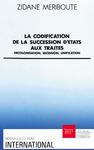 Livre numérique La codification de la succession d'États aux traités