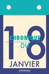 Livre numérique Chronique du 18  janvier