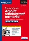 Livre numérique Concours Adjoint administratif territorial - Catégorie C - Tout-en-un