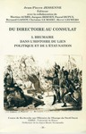 Livre numérique Du Directoire au Consulat 3. Brumaire dans l'histoire du lien politique et de l'État-nation