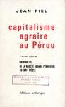 Livre numérique Capitalisme agraire au Pérou. Premiervolume