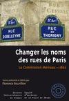 Livre numérique Changer les noms des rues de Paris