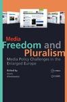 Livre numérique Media Freedom and Pluralism