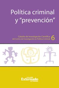 """Livre numérique Política criminal y """"prevención"""""""