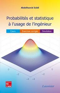 Livre numérique Probabilités et statistique à l'usage de l'ingénieur