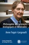 Livre numérique Philosophie des sciences biologiques et médicales