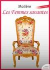 Livre numérique Les Femmes savantes
