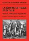 Livre numérique La Réforme en France et en Italie