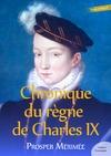 Livre numérique Chronique du règne de CharlesIX