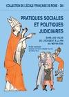 Livre numérique Pratiques sociales et politiques judiciaires dans les villes de l'Occident à la fin du Moyen Âge