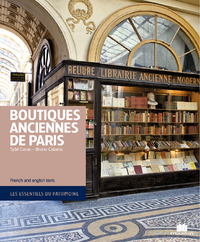 Livre numérique Boutiques anciennes de Paris
