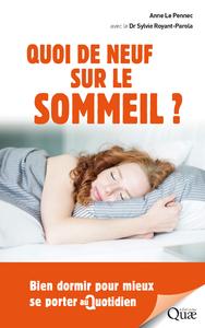 Livre numérique Quoi de neuf sur le sommeil ?