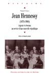 Livre numérique Jean Hennessy (1874-1944)